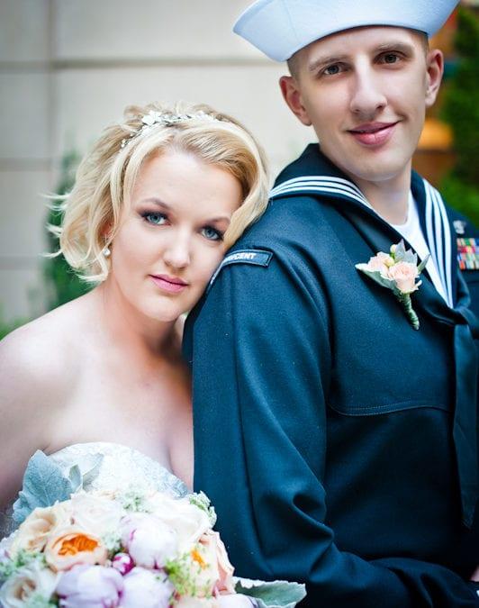 DC Venue: Westin Georgetown Matt and Melissa Navy Wedding