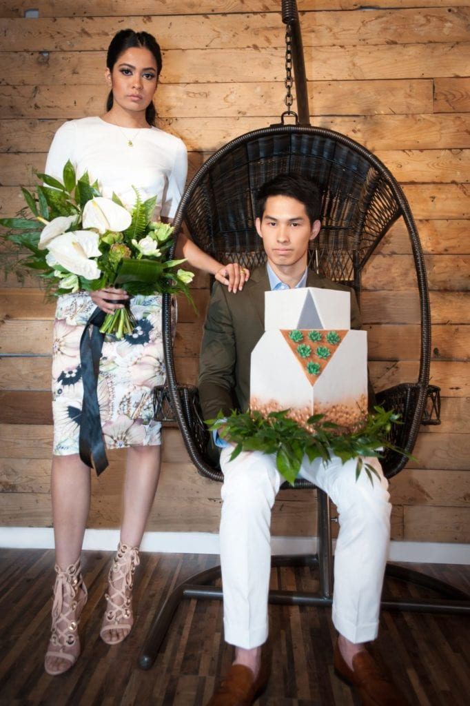 Editorial: Modern Greenery Style Shoot