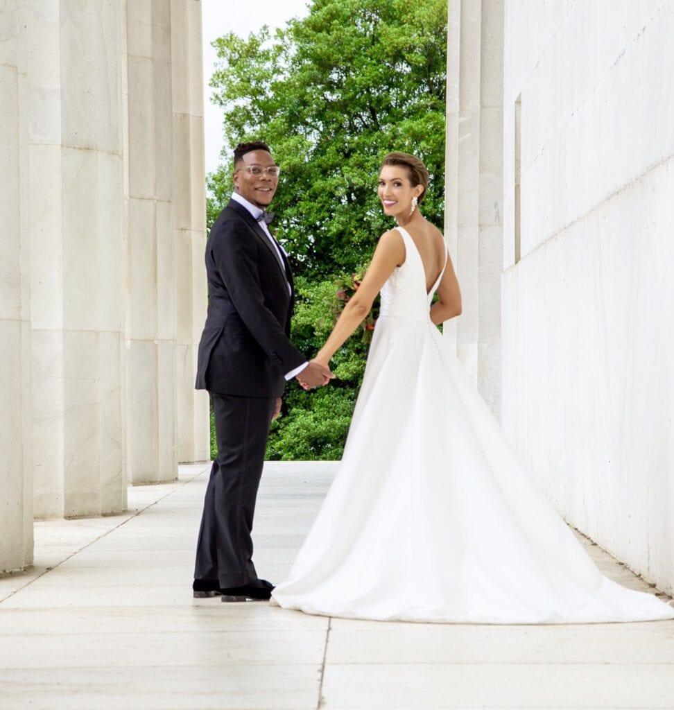 DC Micro Wedding at DC War Memorial