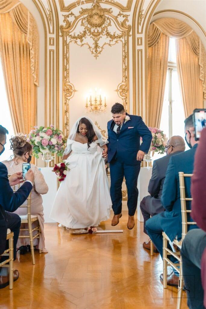 Tatiana and Guillermo DC Micro Wedding